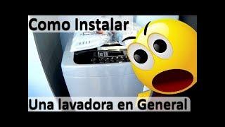 Como instalar una lavadora en General - Lavadora LG Turbo Drum WFSL1762EK