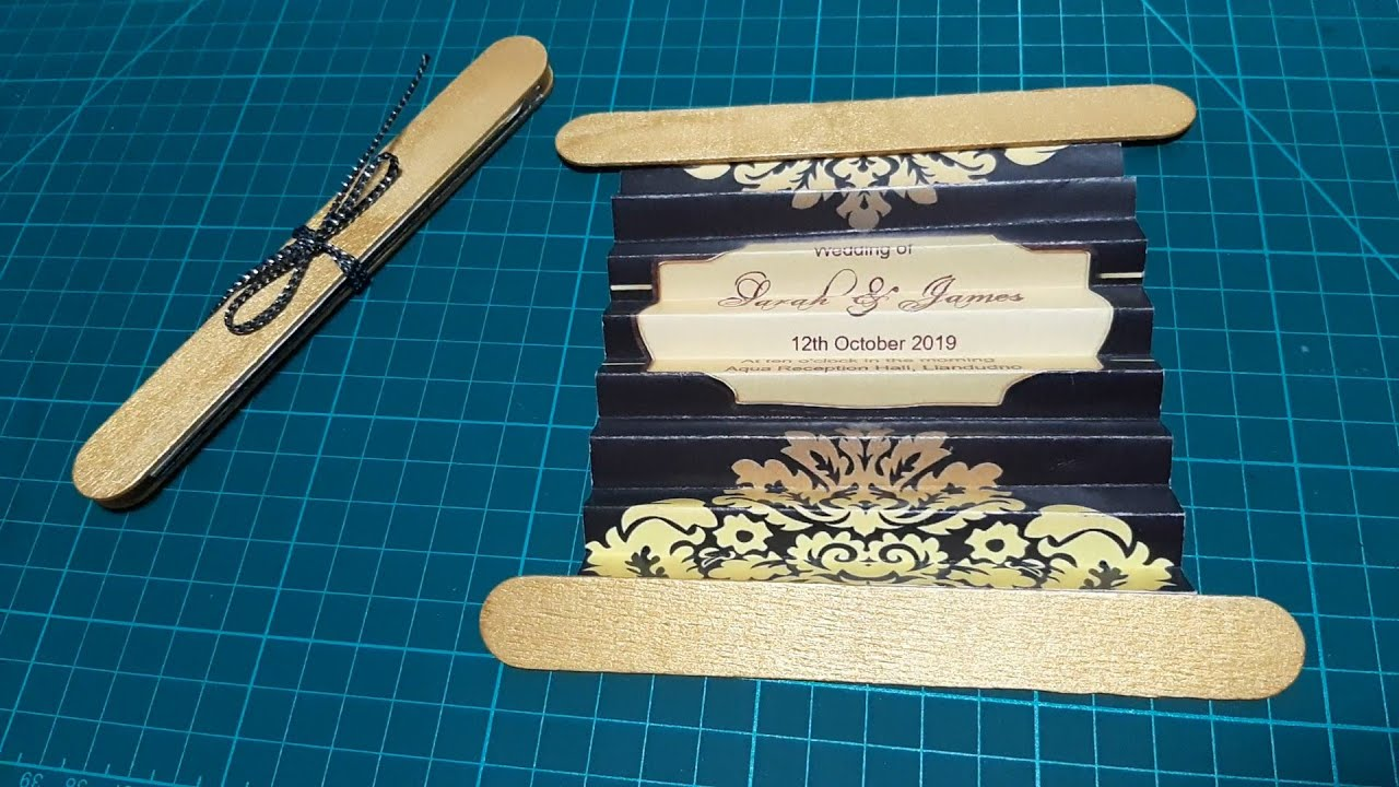 Unique Wedding Invitation Cards Ideas