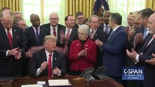 Word for Word: Pres. Trump Signs Criminal Justice Reform Bills Into Law (C-SPAN)