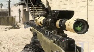 Call of Duty Ghosts - Multiplayer Gameplay TDM On Octane - Sniper Gameplay (CoD Ghosts Sniping)