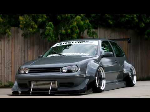Building a widebody mk4 show car