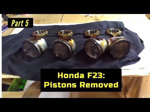 F23 Honda Accord Engine Rebuild Part 5: Bottom End Disassembly