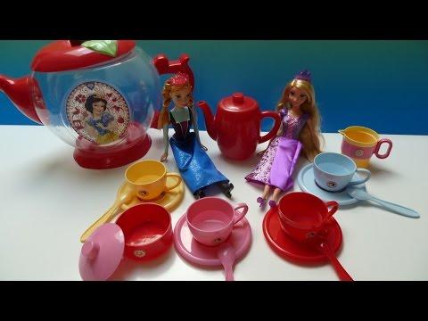 Bộ Đồ Chơi Bình Trà Khổng Lồ Công Chúa Bạch Tuyết (Bí Đỏ) Snow White Giant Teapot playset