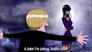 vuclip One Piece - Sanji Wants To See Robin's Docking