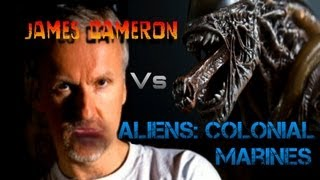 James Cameron Reacts To Aliens Colonial Marines