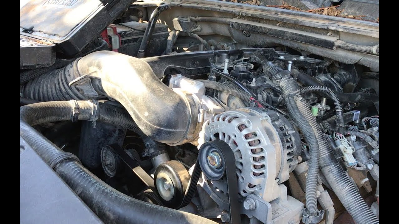 Alternator And Starter Replacement On 2007 Yukon