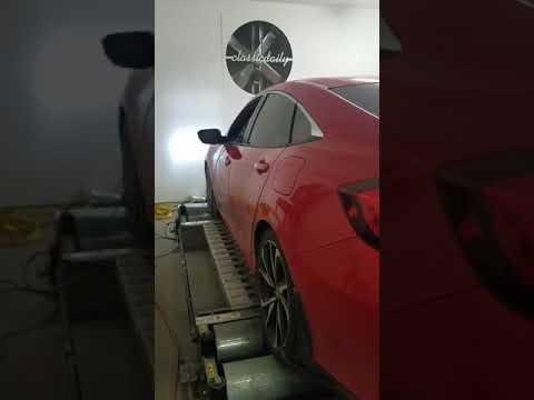 Honda Civic Si Dyno Pull