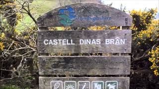 Castell Dinas Bran, Radio activation Fail. But WOW the scenery was stunning.