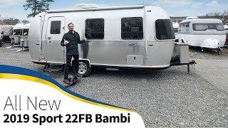 2019 Airstream Sport 22fb Bambi Walk Through Small Light Tiny Size Travel Trailer Youtube