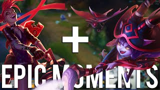 Funny LoL Series #20 : EPIC MOMENTS (Jinx & Lulu = OP)