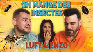 DÉGUSTATION D'INSECTES ET D'ARAIGNÉES (Ft. Lufy & Enzo)