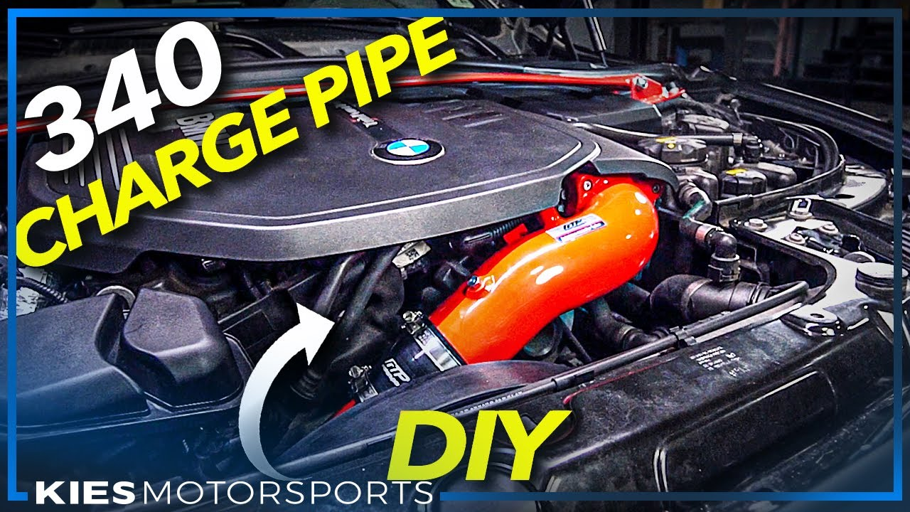 How to install a CHARGEPIPE on an F30 340i B58