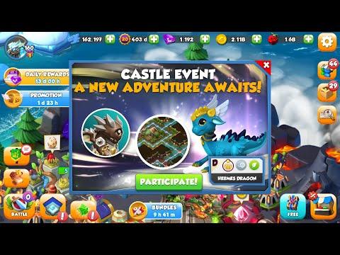 hack game dragon mania legends windows phone - Castle Event - Hope we can get HERMES Dragon - Dragon Mania Legends
