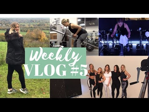 WORKING OUT WHEN YOU'RE BUSY | WEEKLY VLOG #5