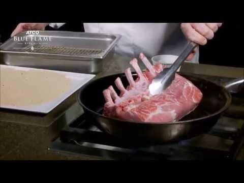 How To Make Bone-In Pork Roast With Mushroom Crust