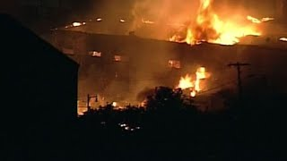 Fire burns for hours following explosion in Sun Prairie