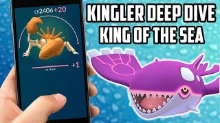 Kingler Deep Dive In Pokemon Go CRABHAMMER IS ABSOLUTELY INSANE