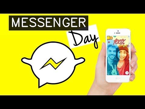 MESSENGER DAY NOVA ATUALIZAÇÃO FACEBOOK MESSENGER | Ally Arruda