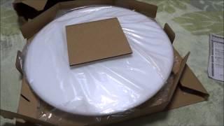 SHARPさくら色LEDシーリングライト買ってきた【3F寝室用】 thumbnail
