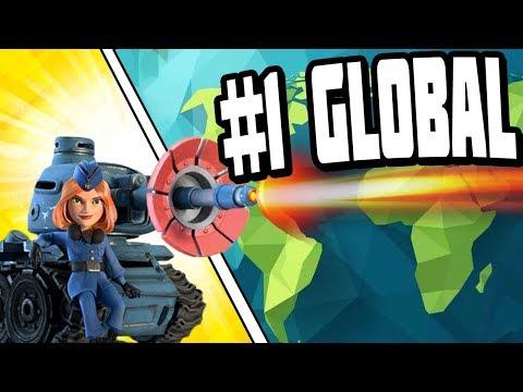 Crushing Global #1 with the Lazortron MK2 - Boom Beach