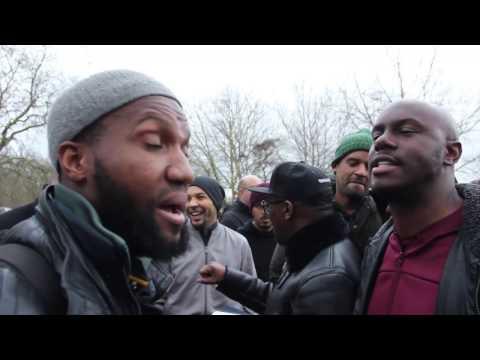 Sa Ra & Gary vs Numerous Muslims | Speakers Corner titans tv