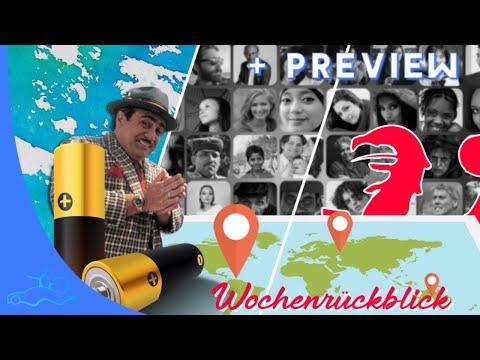 Wochenrückblick | E-Auto Akkus, Autohäuser & Ladesäulen Verzeichnis, Kommentar | Daily LIVE Vlog #46