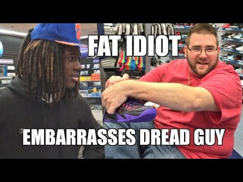 EMBARRASSING DREAD GUY VLOGS AT THE MALL!