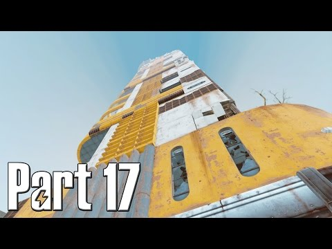Fallout 4 Walkthrough Gameplay Part 17 – Trinity Tower (Tallest Building)