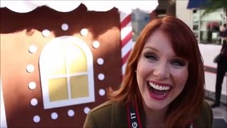 Bryce Dallas Howard belly laughing ♡