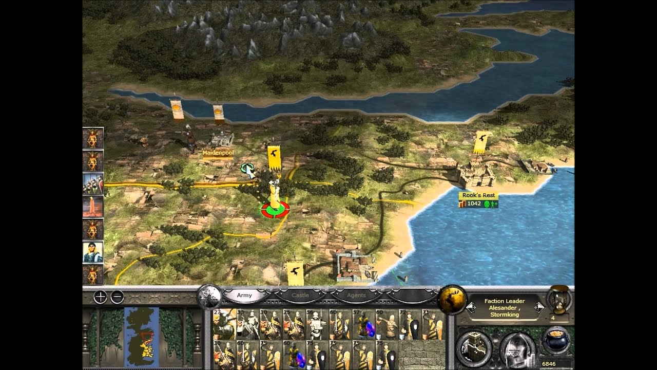 Stormkings #1 Westeros Total war Sub-mod (medieval 2 TW ...  Stormkings #1 W...