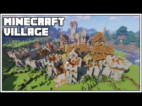 How To Build A Village In Minecraft 1.14 [World Download]