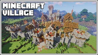 How to Build a Village in Minecraft 1 14 [World Download] YouTube