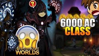 6000 AC CLASS!!! (ShadowStalker of Time Class) AQW AdventureQuest Worlds