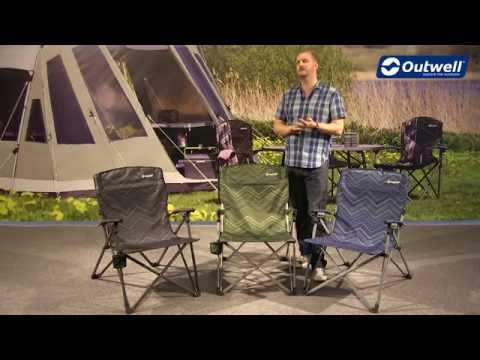 Outwell Palena Hills Camping Chair | Innovative Family Camping