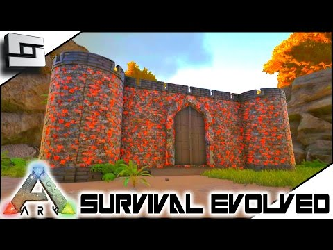 HELLFIRE CASTLE! Modded ARK: Mystic Academy E3 ( Ark Survival Evolved Gameplay )