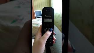удаление входящих и исходящих звонков Panasonic