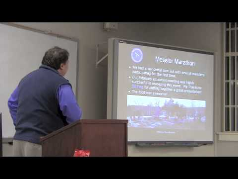 New Hampshire Astronomical Society Monthly Meeting--March 22, 2013