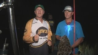 Southwest Outdoors Report #24 Galveston, Texas Flounder Gigging - 2013