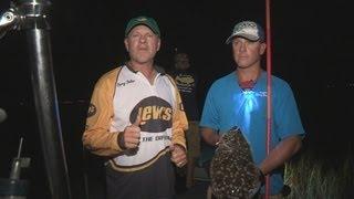 Southwest Outdoors Report #24 Galveston, Texas Flounder Gigging - 2013