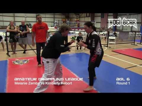 AGL 6 Finals • Melanie Zemba vs Kimberly Kebort • Amateur Grappling League™ by Nogi Bear™