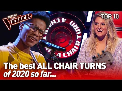 TOP 10 | The Coaches go WILD for these amazing talents in The Voice