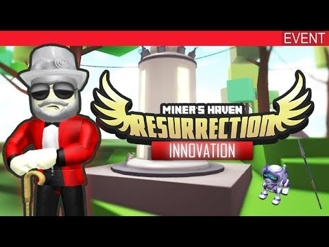 ROBLOX INNOVATION EVENT 2018! - HOW TO BOTH MINERS HAVEN ITEMS!
