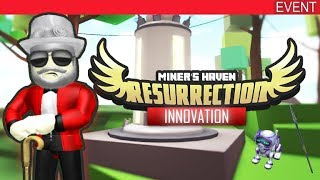 ROBLOX INNOVATION EVENT 2018! - WIE ZU BOTH MINERS HAVEN ITEMS!