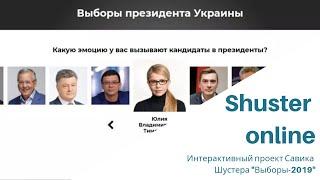 """Интерактивный проект Савика Шустера """"Выборы-2019"""""""