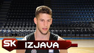 Aleksej Nikolić o Dolasku u Partizan, Abicijama u Evrokupu, Klubu | SPORT KLUB Košarka