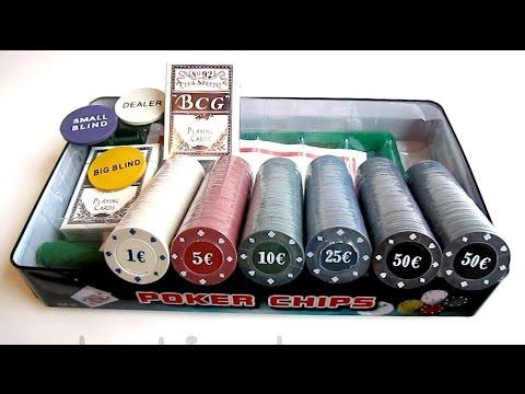 Набор для игры в покер 300 фишек (Видео обзор) Podarki-odessa.com