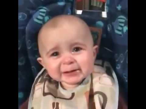 Baby crying when listen song Aye Mere Watan ke...