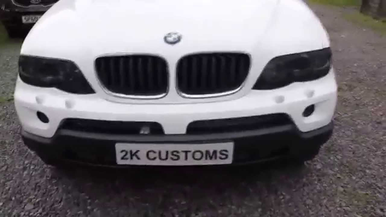 Bmw X5 Full Wrap White With Black Roof 3m Youtube