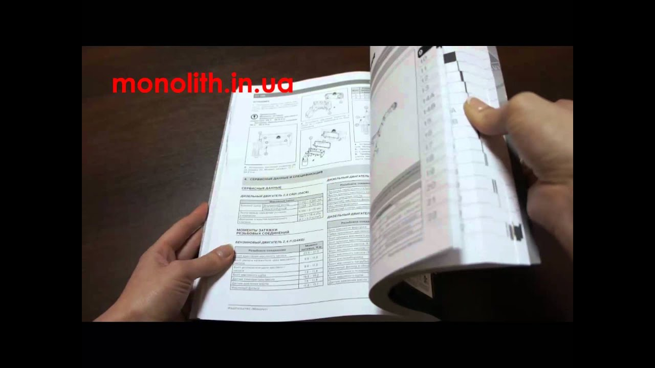 Руководство по ремонту Hyundai H1 | Grand Starex c 2007 года
