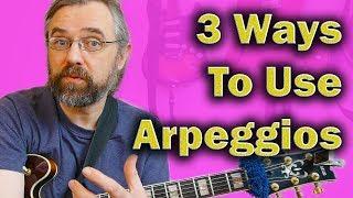 three ways to add arpeggios to your jazz guitar licks